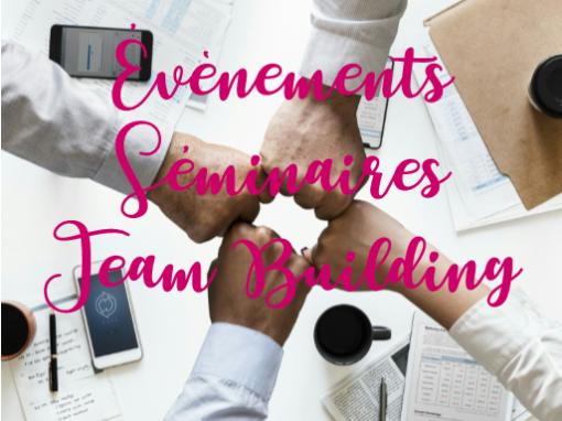 Evénementiels </br> & Team Building